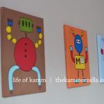 robot rumpus room paintings