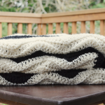 life of kamm | crocheted chevron baby blanket