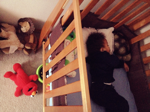 life of kamm | you know you've got a sleep resistant baby when...